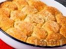 Рецепта Содени питки със семена (ленено, маково и сусам) и сирене от пшеничено и царевично брашно